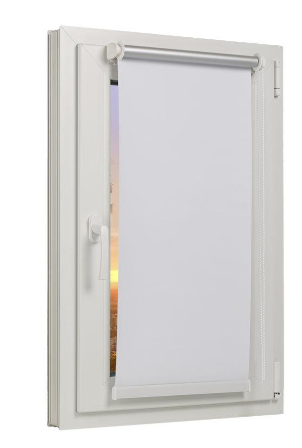 TEXMAXX/® Verdunkelungsrollo Klemmfix ohne Bohren 40 x 100cm RMIDT40x100-053 Rollos f/ür Fenster ohne Bohren Verdunklungsrollo - in Beige Stoffbreite 36 cm Zubeh/ör inkl